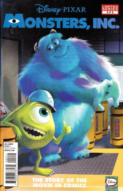 Cover for Monsters, Inc. (Marvel, 2013 series) #2