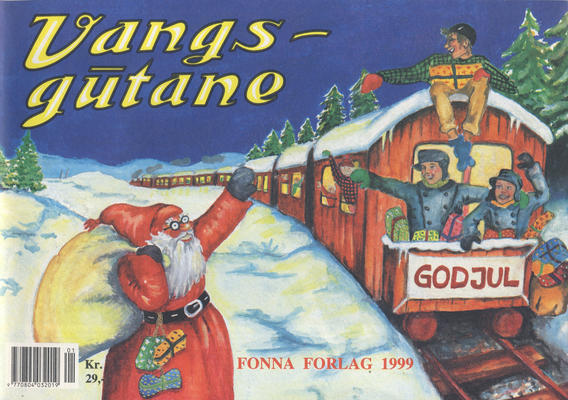 Cover for Vangsgutane (Fonna Forlag, 1941 series) #1999