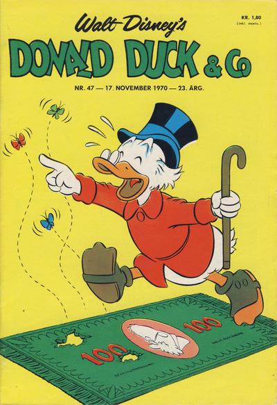 Cover for Donald Duck & Co (Hjemmet / Egmont, 1948 series) #47/1970