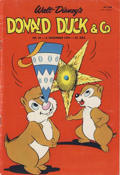 Cover for Donald Duck & Co (Hjemmet / Egmont, 1948 series) #50/1970