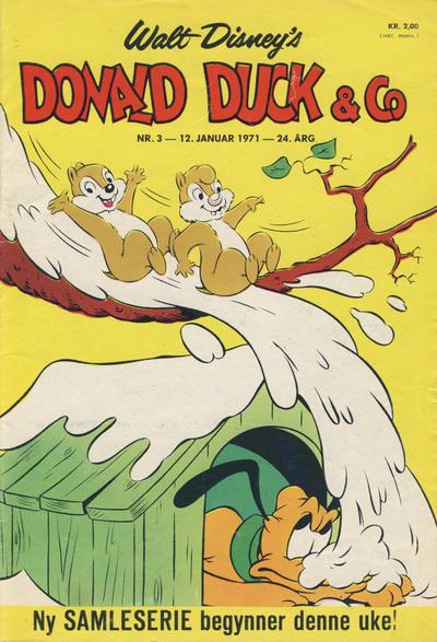Cover for Donald Duck & Co (Hjemmet / Egmont, 1948 series) #3/1971