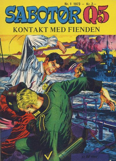 Cover for Sabotør Q5 (Serieforlaget / Se-Bladene / Stabenfeldt, 1971 series) #1/1973