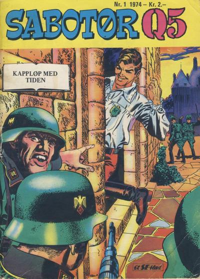 Cover for Sabotør Q5 (Serieforlaget / Se-Bladene / Stabenfeldt, 1971 series) #1/1974