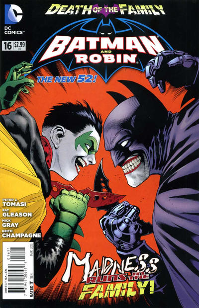 Cover for Batman and Robin (DC, 2011 series) #16