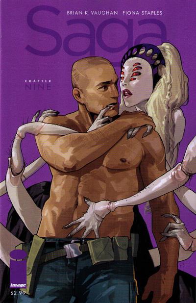 Cover for Saga (Image, 2012 series) #9