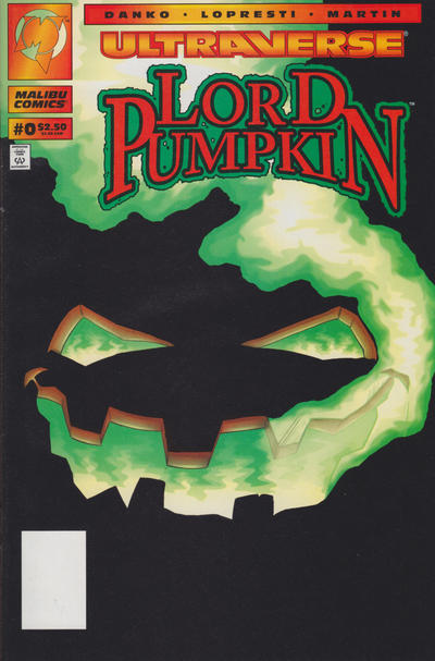 Cover for Lord Pumpkin (Malibu, 1994 series) #0