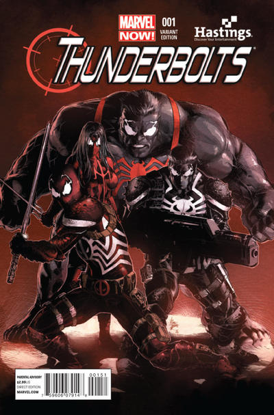Cover for Thunderbolts (Marvel, 2013 series) #1