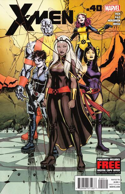 Cover for X-Men (Marvel, 2010 series) #40