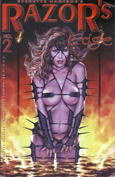 Cover for Razor's Edge (London Night Studios, 1999 series) #2 [Nightraven]