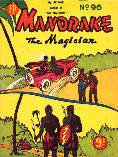 Cover for Mandrake the Magician (Feature Productions, 1950 ? series) #96