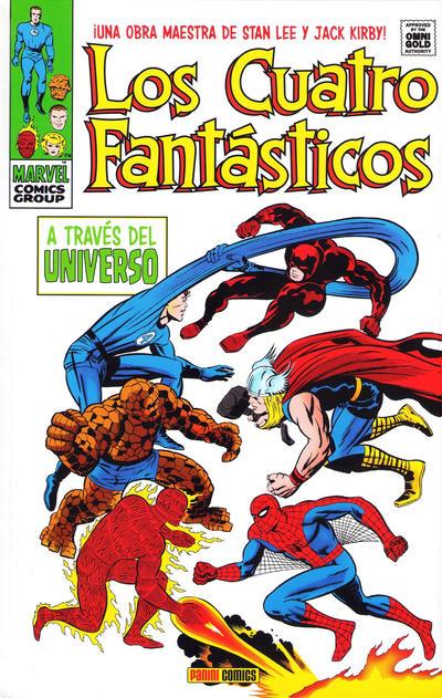 Cover for Marvel Gold. Los 4 Fantásticos (Panini España, 2011 series) #2 - A Través del Universo