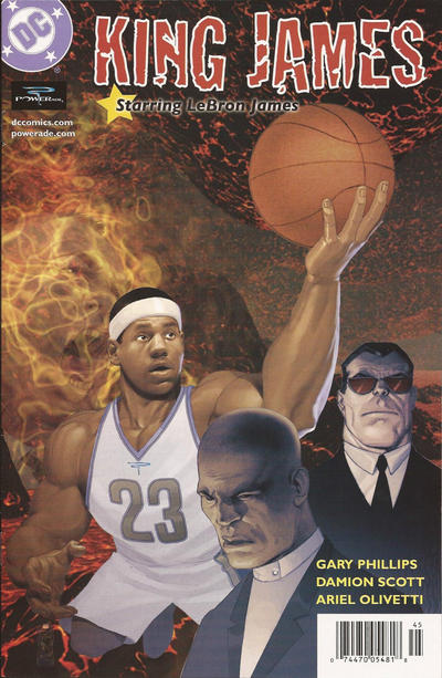 Cover for King James Starring LeBron James (DC, 2004 series) #[nn]