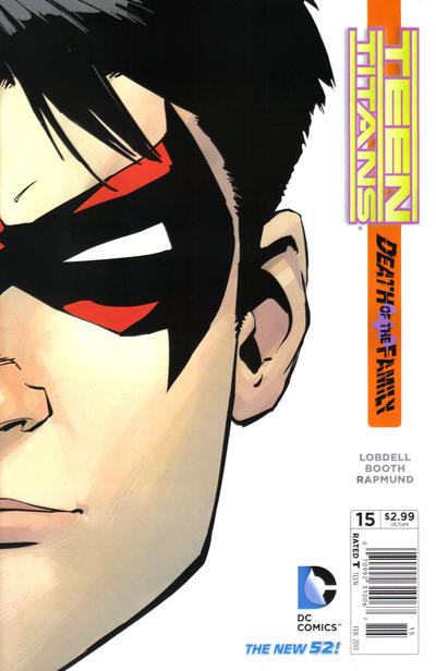 Cover for Teen Titans (DC, 2011 series) #15 [Newsstand Edition]