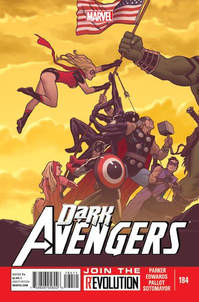 Cover for Dark Avengers (Marvel, 2012 series) #184