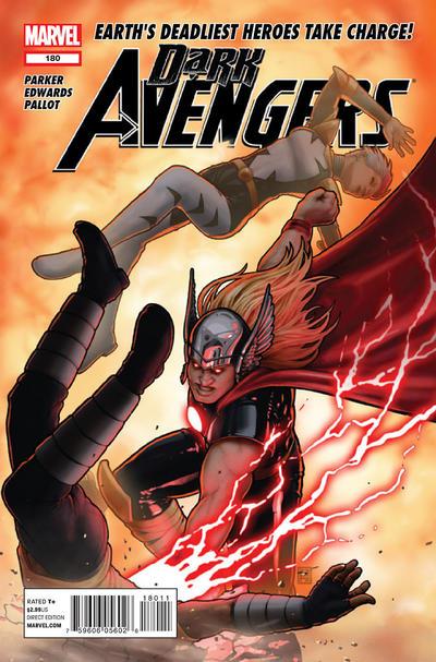 Cover for Dark Avengers (Marvel, 2012 series) #180