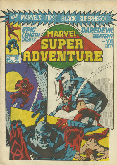 Cover for Marvel Super Adventure (Marvel UK, 1981 series) #4
