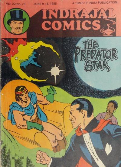 Cover for Indrajal Comics (Bennet, Coleman & Co., 1964 series) #v22#23 [566]