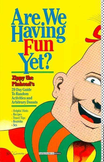 Cover for Are We Having Fun Yet? (Fantagraphics, 1994 series)