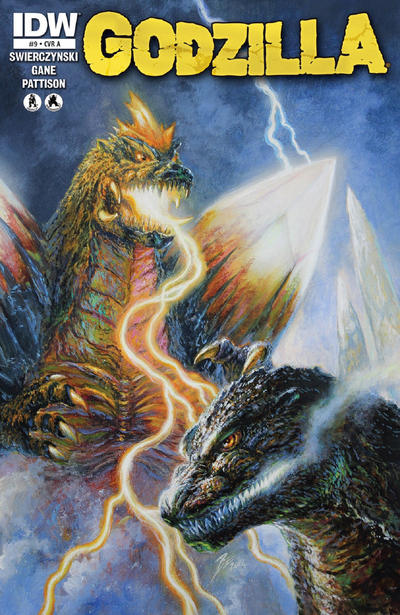 Cover for Godzilla (IDW, 2012 series) #9