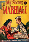 Cover for My Secret Marriage (Superior Publishers Limited, 1953 series) #22