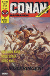Cover for Conan (Semic, 1984 series) #3/1985
