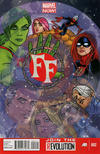 Cover for FF (Marvel, 2013 series) #2