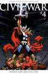 Cover Thumbnail for Civil War (2006 series) #4 [Retailer Incentive Color Cover]