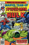 Cover Thumbnail for Marvel Team-Up (1972 series) #54 [British price variant]