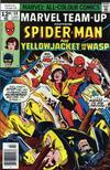 Cover for Marvel Team-Up (Marvel, 1972 series) #59 [British price variant]