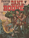 Cover for Frontier Scout Dan'l Boone (New Century Press, 1955 ? series) #1