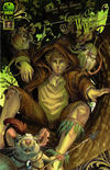 Cover for Legend of Oz: The Wicked West (Big Dog Ink, 2012 series) #3 [Cover B by Nei Ruffino]