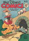 Cover for Walt Disney's Comics (W. G. Publications; Wogan Publications, 1946 series) #8