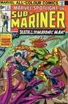 Cover for Marvel Spotlight (Marvel, 1971 series) #27 [British]