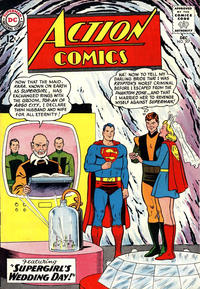 Cover Thumbnail for Action Comics (DC, 1938 series) #307
