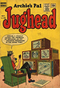 Cover Thumbnail for Archie's Pal Jughead (Archie, 1949 series) #89 [Canadian Price Variant]