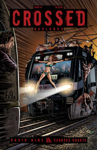 Cover for Crossed Badlands (Avatar Press, 2012 series) #16 [Torture Variant Cover by Raulo Caceres]