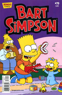 Cover for Simpsons Comics Presents Bart Simpson (Bongo, 2000 series) #79