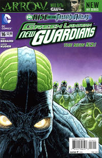 Cover for Green Lantern: New Guardians (DC, 2011 series) #16