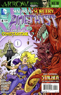 Cover Thumbnail for Sword of Sorcery (DC, 2012 series) #4