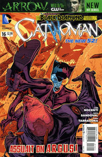 Cover for Catwoman (DC, 2011 series) #16