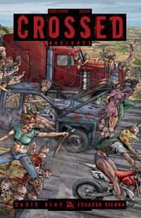 Cover for Crossed Badlands (Avatar Press, 2012 series) #18 [Wraparound Variant Cover by Gianluca Pagliarani]