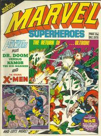 Cover Thumbnail for Marvel Superheroes [Marvel Super-Heroes] (Marvel UK, 1979 series) #356