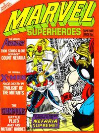 Cover Thumbnail for Marvel Superheroes [Marvel Super-Heroes] (Marvel UK, 1979 series) #360