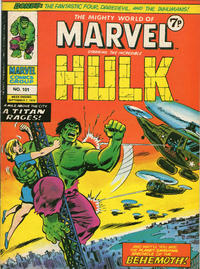 Cover Thumbnail for The Mighty World of Marvel (Marvel UK, 1972 series) #101