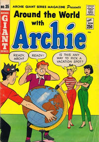 Cover Thumbnail for Archie Giant Series Magazine (Archie, 1954 series) #35 [Canadian Price Variant]