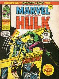 Cover Thumbnail for The Mighty World of Marvel (Marvel UK, 1972 series) #106