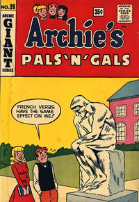 Cover Thumbnail for Archie's Pals 'n' Gals (Archie, 1952 series) #26 [Canadian Price Variant]