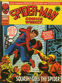 Cover Thumbnail for Spider-Man Comics Weekly (Marvel UK, 1973 series) #150