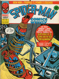 Cover Thumbnail for Spider-Man Comics Weekly (Marvel UK, 1973 series) #152