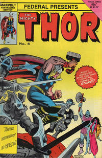 Cover Thumbnail for The Mighty Thor (Federal, 1984 series) #4